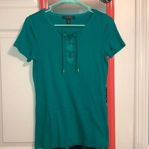 Gorgeous Emerald Lauren Ralph Lauren Top